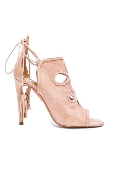 Get Me Everywhere Suede Heels