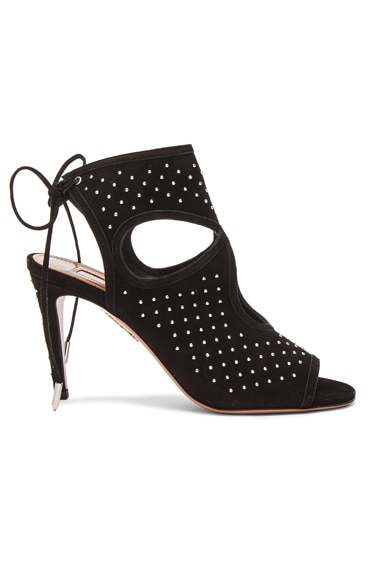 Studded Sexy Thing Suede Heels