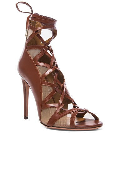 French Lover leather Heels