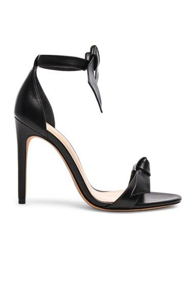 Alexandre Birman Clarita Heels in Black Leather