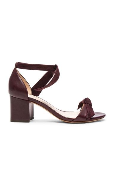 Alexandre Birman Clarita Sandals in Merlot