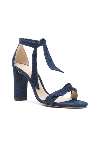 Denim Clarita Block Heels