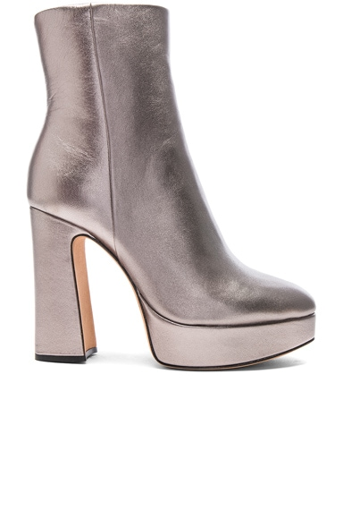 Leather Loreta Platform Boots