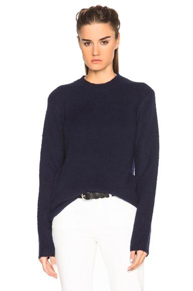 Acne Studios Peele Sweater in Navy