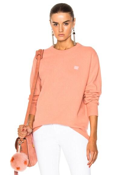 Nalon Face Pullover Sweater Acne Studios