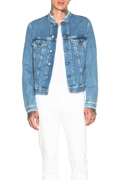 Who Frayed Denim Jacket