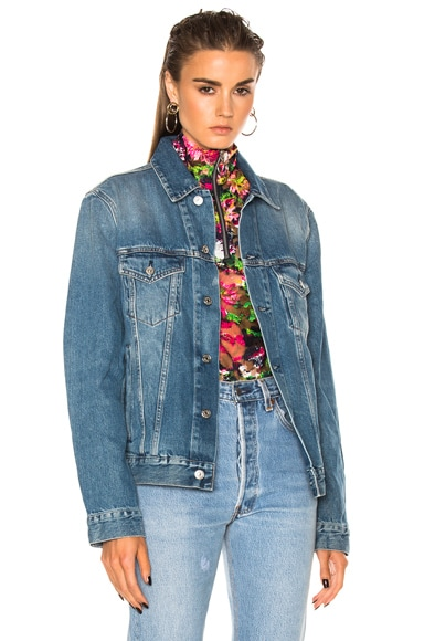Acne Studios Beat Denim Jacket in Mid Vintage