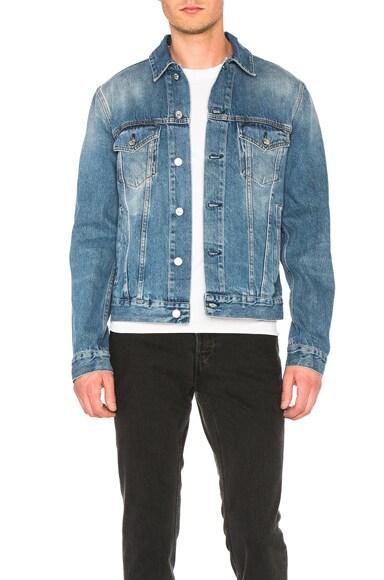 Acne Studios Beat Denim Jacket in Mid Vintage