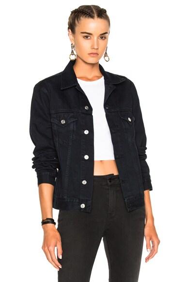 Acne Studios Who Jacket in Vintage Black