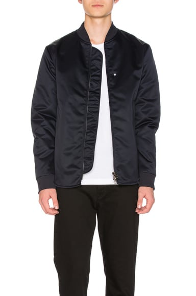 Mylon Matt Bomber Jacket