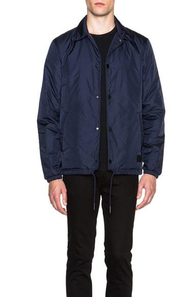 Acne Studios Tony Coaches Jacket in Night Blue