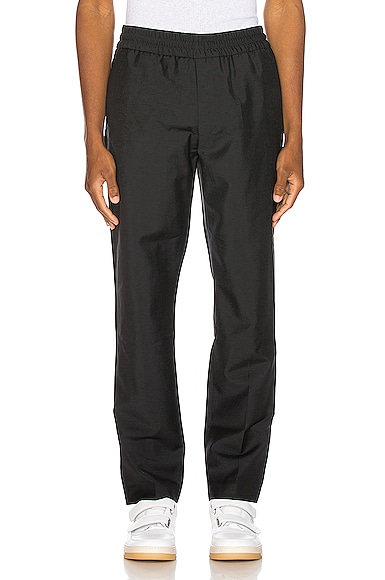 Acne Studios Ryder Cropped Trousers in Black