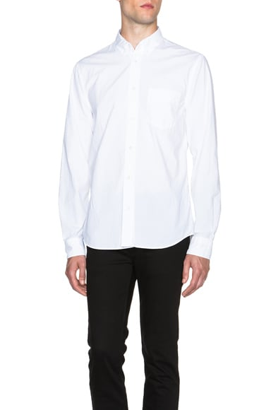 Acne Studios Isherwood Button Down in White
