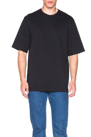 Acne Studios Chelsea Short Sleeve Tee in Black