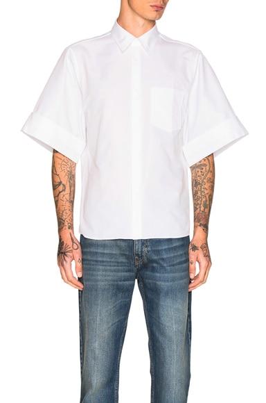 Acne Studios Birch Cotton Shirt in White