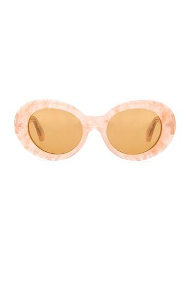Acne Studios Mustang Sunglasses in Brown