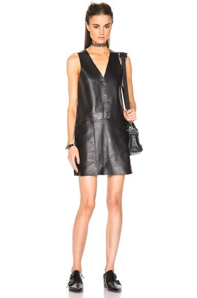 Chaplin Leather Dress