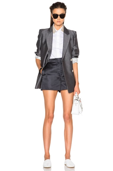 Callie Duchesse Satin Shorts