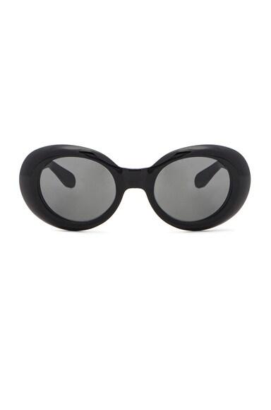 Acne Studios Mustang Sunglasses in Black