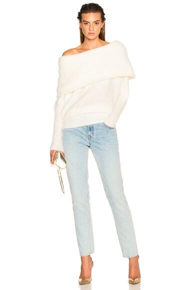 Daze Sweater Pearl White