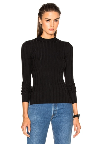 Acne Studios Carin Sweater in Black