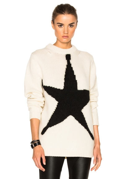 Acne Studios Shauni Sweater in White Star