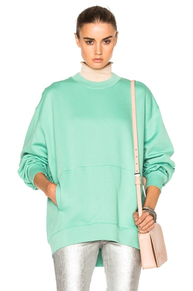 Acne Studios Karvel Sweater in Green