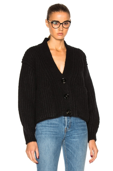 Acne Studios Hadlee Chunky Sweater in Black