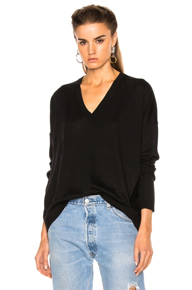 Acne Studios Challa Sweater in Black