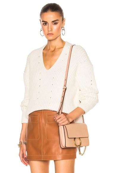 Acne Studios Bernice Sweater in Off White