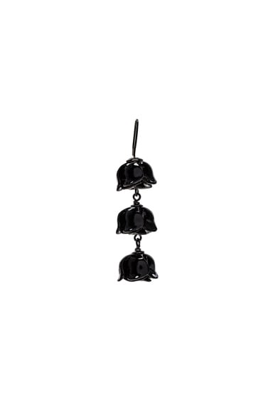 Acne Studios Connie Single Earring in Black
