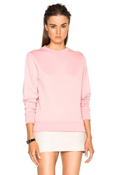 Acne Studios Vernina Sweatshirt in Sherbet Pink