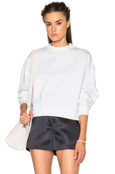Acne Studios Bird Sweatshirt in Pearl White