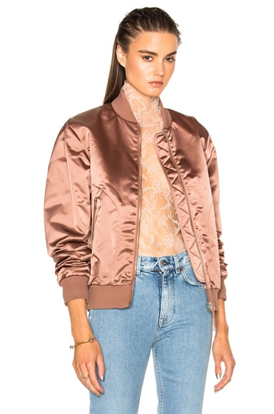 Acne Studios Azura Bomber Jacket in Pink