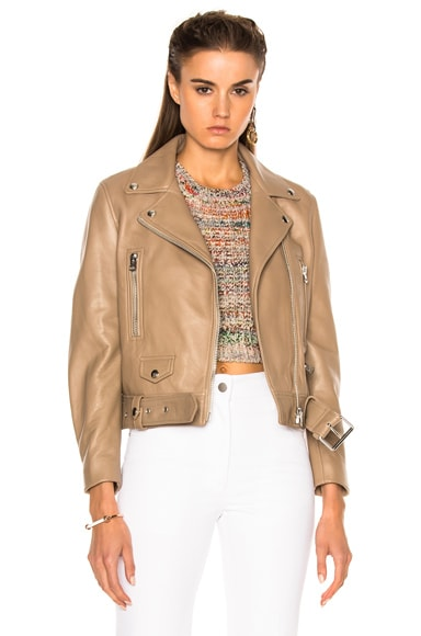 Acne Studios Mock Jacket in Beige