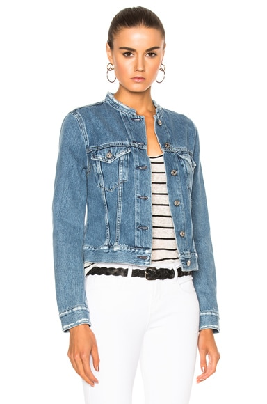 Acne Studios Top Jacket in Indigo Fray