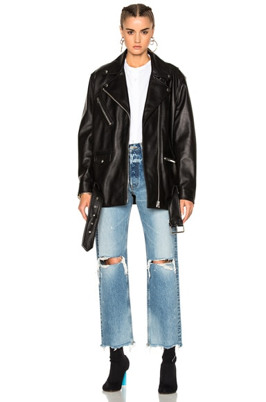 Myrtle Leather Jacket