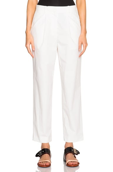 Acne Studios Onno Pop Suiting Trousers in Natural
