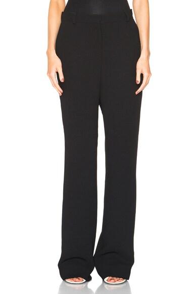 Acne Studios Obel Crepe Trousers in Black