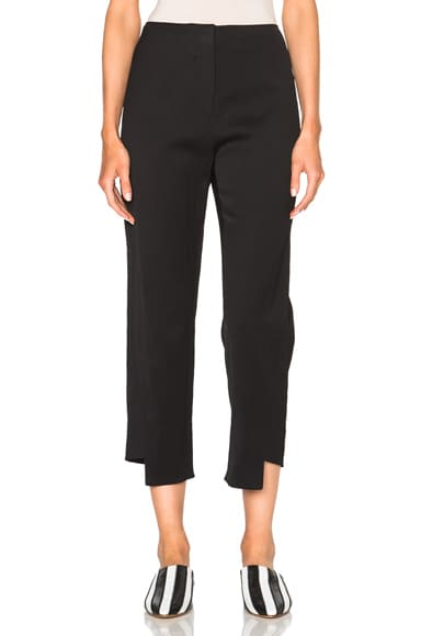 Acne Studios Harriet Crinkle Trousers in Black