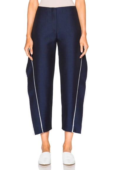 Acne Studios Harriet Fringe Pants in Navy