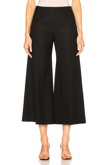Acne Studios Isa Structured Pant in Black