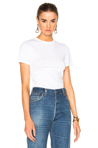 Acne Studios Dorla 2 Pack Tee in Optic White