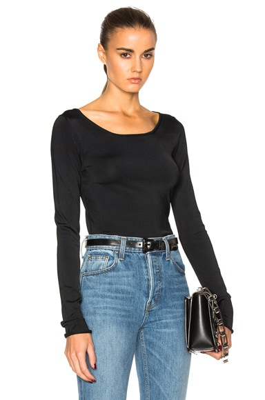 Acne Studios Roso Tight Sweater in Black