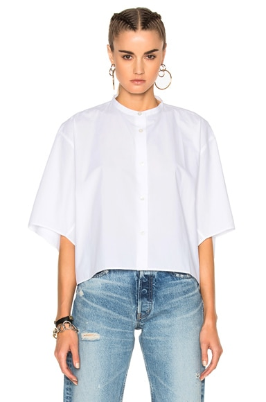Acne Studios Bridget Shirt in Optic White