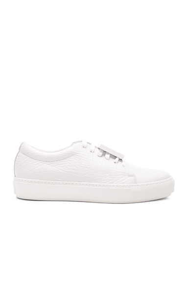 Acne Studios Leather Adriana Sneakers in White