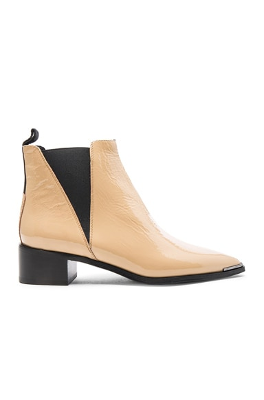 Patent Leather Jensen Booties