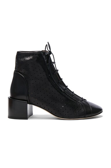 Leather Mable Booties