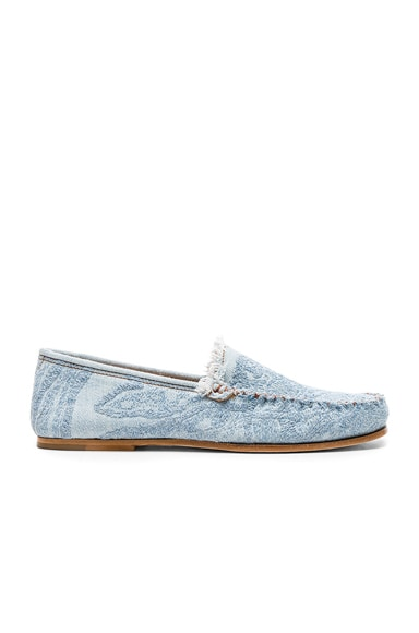 Jackson Denim Loafers Acne Studios