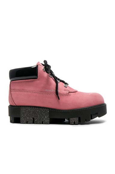 Tinne Leather Boots Acne Studios